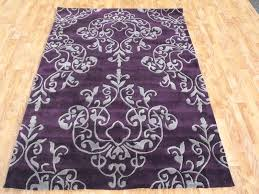 purple rug for bedroom small area