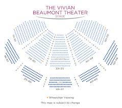 Vivian Beaumont Theater Seating Chart Vivian Beaumont