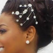 Cheveux Afro Idées De Coiffures De Mariage Coiffure