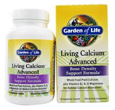 garden of life living calcium advanced bone density 120 caplets at luckyvitamin com