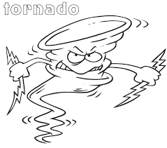 tornado coloring pages. Exellent Pages Click The Angry Cartoon Tornado  And Coloring Pages O