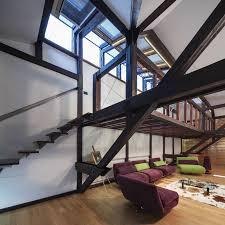 Contemporary Loft Apartment in Bucharest