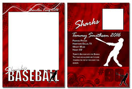 free trading card template baseball cutout trading card photoshop elements