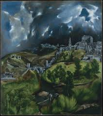 view of toledo is one of the two surviving landscapes painted by el greco