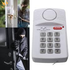 garage door alarmSecurity Keypad Door Alarm System Panic Button Doors Window Sheds