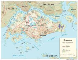 Singapore Maps Perry Castañeda Map Collection Ut Library
