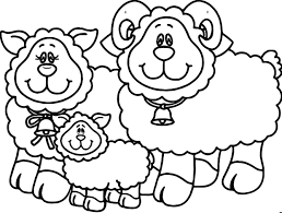 Small Picture Carson Dellosa Family Sheep Coloring Page Wecoloringpage