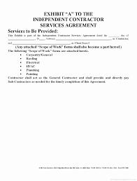 Sample Subcontractor Agreement Extraordinary Sample Independent Contractor Agreement South Africa Inspiring 44