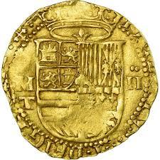 Ii Ss Philip Toledo Spanien Münze Escudos 485141