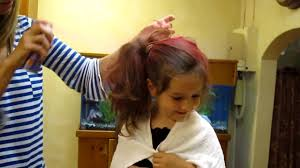 G Getting Her Hair Done For Crazy Hair Day At School Youtube