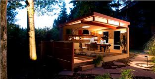 image of prefab office shed buildings backyard office shed home