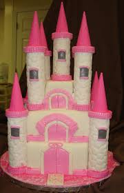 Girl Princess Birthday Cake Designs Castle Cakes Decoration Ideas