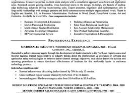 Resume En Resume Good Resumes Examples 3 5 Image Senior Sales