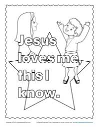 Small Picture Bible Coloring Pages for Kids Jesus and the Children