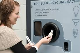 Reverse Vending Machine Uk Mesmerizing UK Company ReVend Revamps Fluorescent Light Bulb Recycling TreeHugger