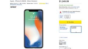 iphone x price. best buy is charging more for iphone x buyers who don\u0027t want installment debt. if you to pre-order the through and pay whole iphone price