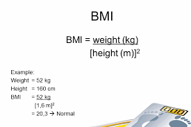 the example of calculating the bmi above means that it s normal but how if