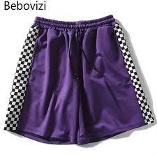 2019 <b>Bebovizi</b> Brand <b>Harajuku</b> Urban Women Men Shorts Side ...