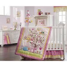 Owl Bedroom Baby Girl Owl Crib Bedding Sets For Present House Design Ideas
