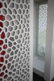 mdf decorative panel for furniture for partition walls perforated