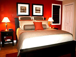 Light Paint Colors For Bedrooms Home Design Exquisite Dark Orange Paint Wall Color Romatic