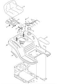 Mtd 13a277ss099 247 288820 lt1500 2013 parts diagram for seat