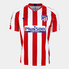 Camisa Atlético Madrid Home 19/20 s/nº Torcedor Nike Masculina