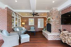 granite fireplace hearth porch traditional with ceiling fan ceiling lighting image by abbey construction company inc