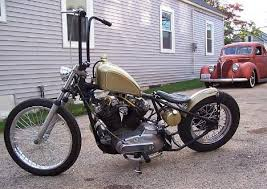 custom bobber motorcycle frames. Photo Of 1974 Harley Davidson Sportster Bobber Custom Motor Bike With  1000cc HD Ironhead Engine By Custom Bobber Motorcycle Frames S