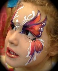 annie reynolds beautiful face painting erfly