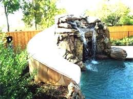 inground pools with waterfalls. Inground Pools With Waterfalls Pool Waterfall Slide And Slides Caves O