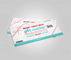 take a look at the most popular gift certificate templates christmas gift voucher template