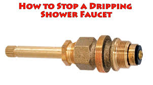 How To Stop A Dripping Shower Faucet Repair Leaky Bathtub Water - Bathroom shower faucet repair