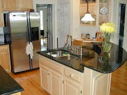 white spray paint wood kitchen island beautiful cabinets images deep green granite countertop natural full area