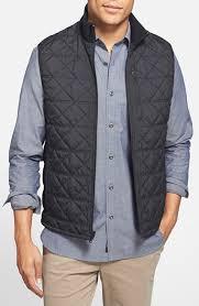 Victorinox 'Matterhorn' Quilted Zip Front Vest in Black for Men | Lyst & Gallery Adamdwight.com