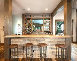 rustic basement bar ideas. Modren Basement Rustic Basement Bar Ideas Home With Wood Beams Counter Stools Reclaimed  Pictures I