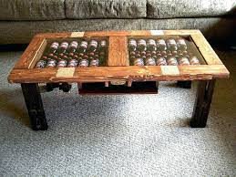 wine storage coffee table wine barrel coffee table ideas png and diy s with regard to wine storage coffee table