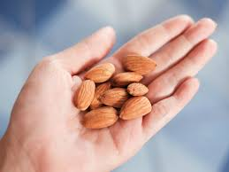 Image result for eating almonds