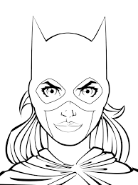 Small Picture Good Batgirl Coloring Pages 34 For Coloring Pages for Kids Online