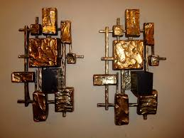 glass cylinder wall sconce candle congenial
