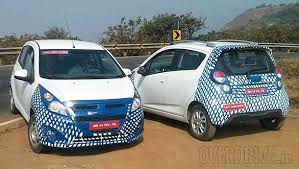 new car launches in puneUpcoming 2014 Chevrolet Beat Facelift Spied near Pune Auto Expo