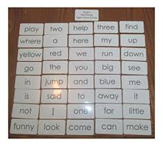 Amazon Com Dolch Pre Primer Sight Word Flash Cards