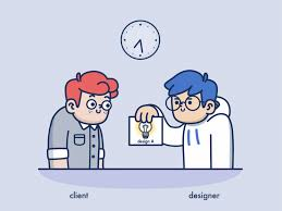 Animated Pictured Fun Animations Show The Eternal Struggle Between Designer