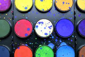 colors colourful paint color palette watercolor art