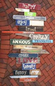 wall words original personalised custom order for a customer we just finished wall of words distressed