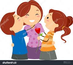 kids hug clipart. pin hug clipart mom kid #4 kids