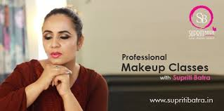 professional makeup cles in delhi courses by supriti