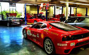 I Did A Photoshoot For Ferrari Of Seattle And Snapped This With My Phone While I Was There Autos