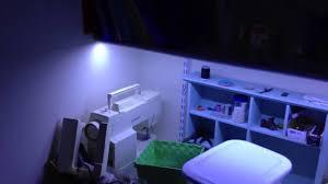 LED strip lighting a workstation YouTube