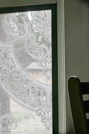 this project is good for a window covering privacy screening or a lace window screen